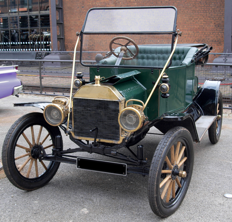 Authentic Model T Ford Automobile.